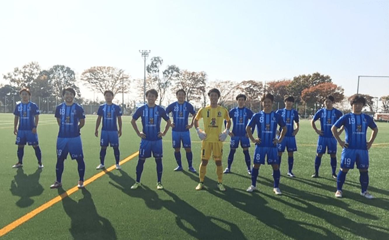 関東社会人サッカー2戦目